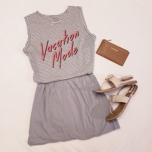 Zoe + Liv Tank in VACATION MODE